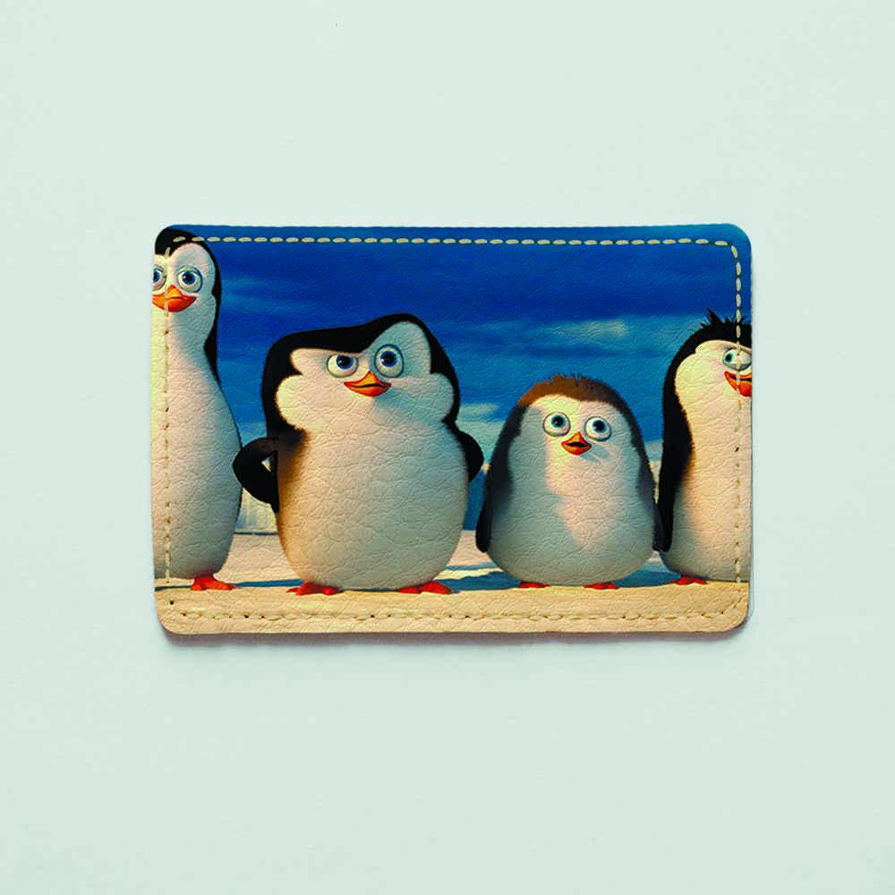 Картхолдер v.1.0. Fisher Gifts  628 Пингвинёнки (эко-кожа)