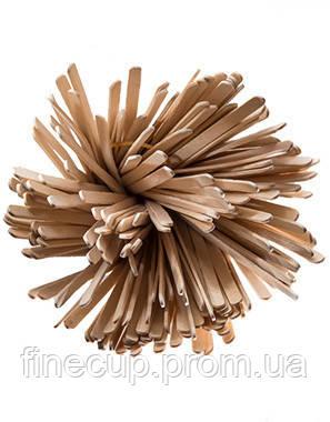 Мішалки дерев'яні букові 140 мм (6 мм ширина) по 800 шт. в упаковці