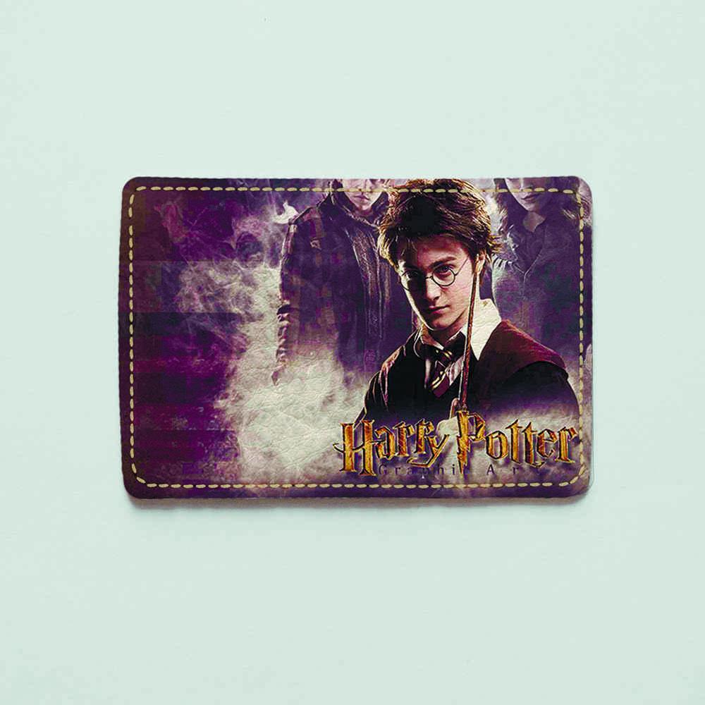 Картхолдер v.1.0. Fisher Gifts  647 Гарри Поттер. Часть 2 (эко-кожа)