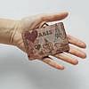 Картхолдер v.1.0. Fisher Gifts  667 Винтажный фон Франция (эко-кожа), фото 3