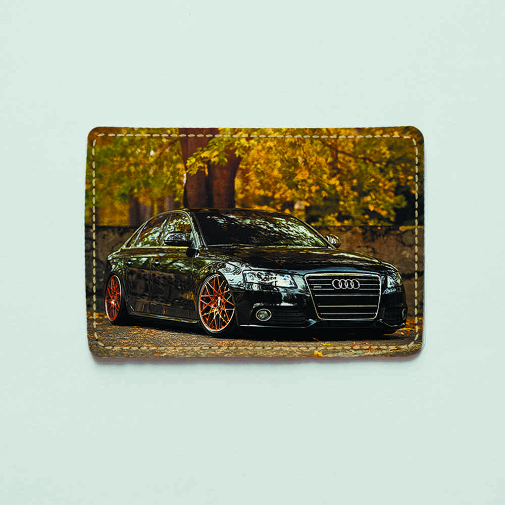 Картхолдер v.1.0. Fisher Gifts  673 Восхитительная Audi (эко-кожа)