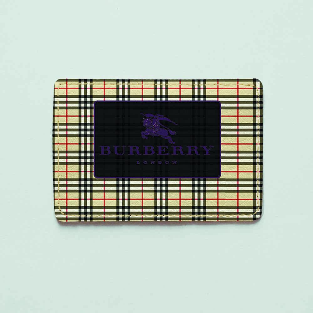 Картхолдер v.1.0. Fisher Gifts  751 Burberry клетка (эко-кожа)