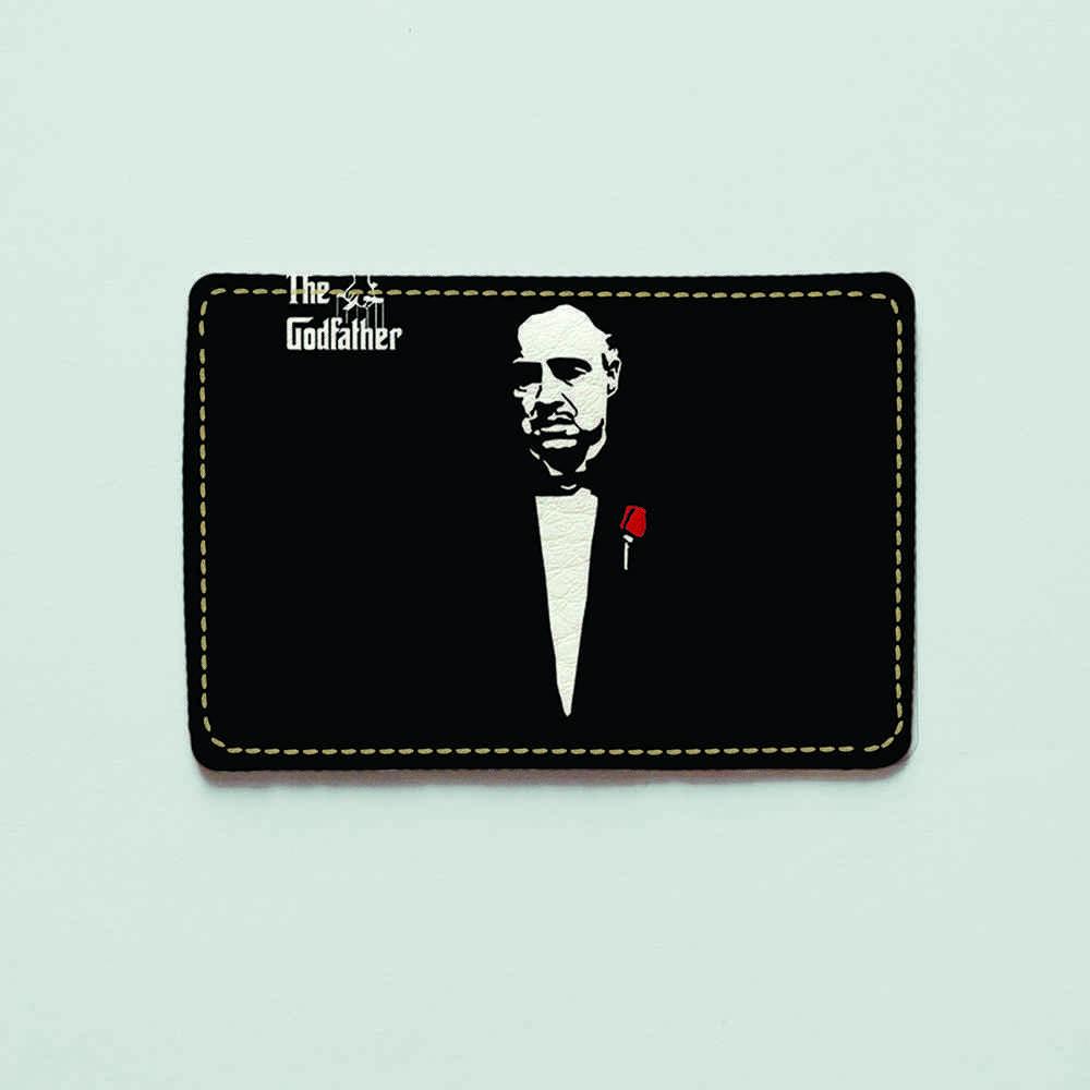 Обложка для id паспорта, карты, автодокументов 1.0 Fisher Gifts  760 Вито Корлеоне 2 (эко-кожа)