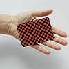 Картхолдер v.1.0. Fisher Gifts  756 Черно-красные шахматы (эко-кожа), фото 3