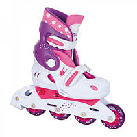 Коньки роликовые раздвижные + защита Tempish UFO Baby Pink 1000000004