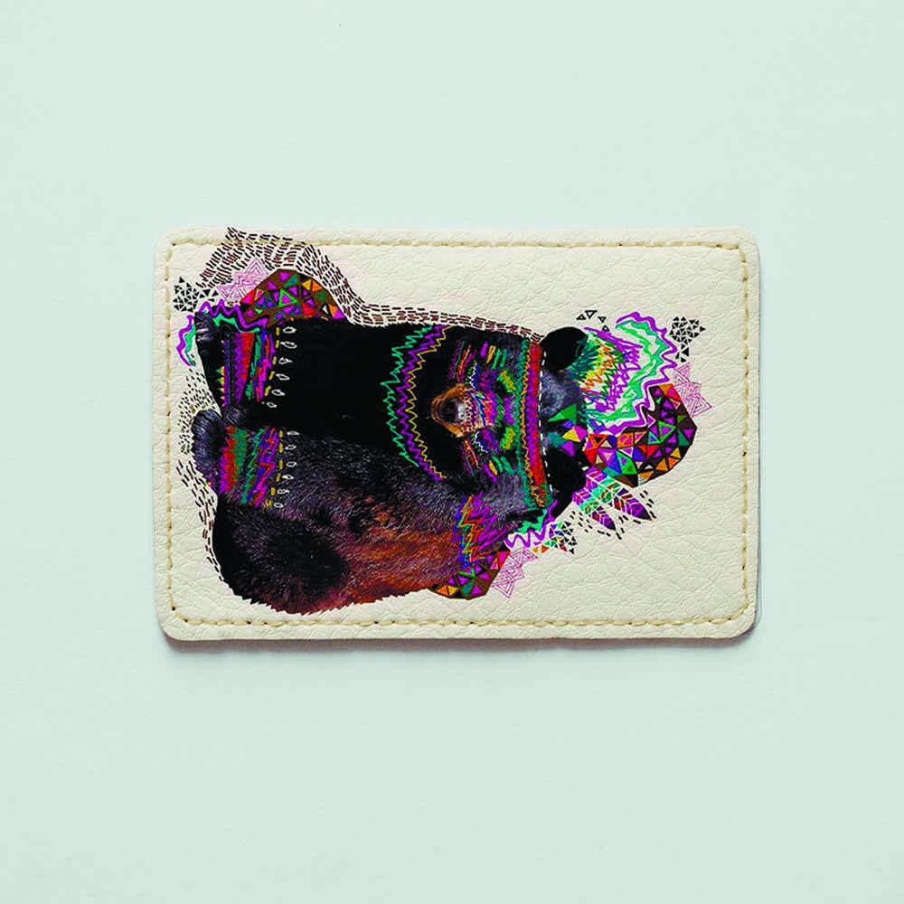Картхолдер Fisher Gifts 777 Медведь-индеец (эко-кожа)