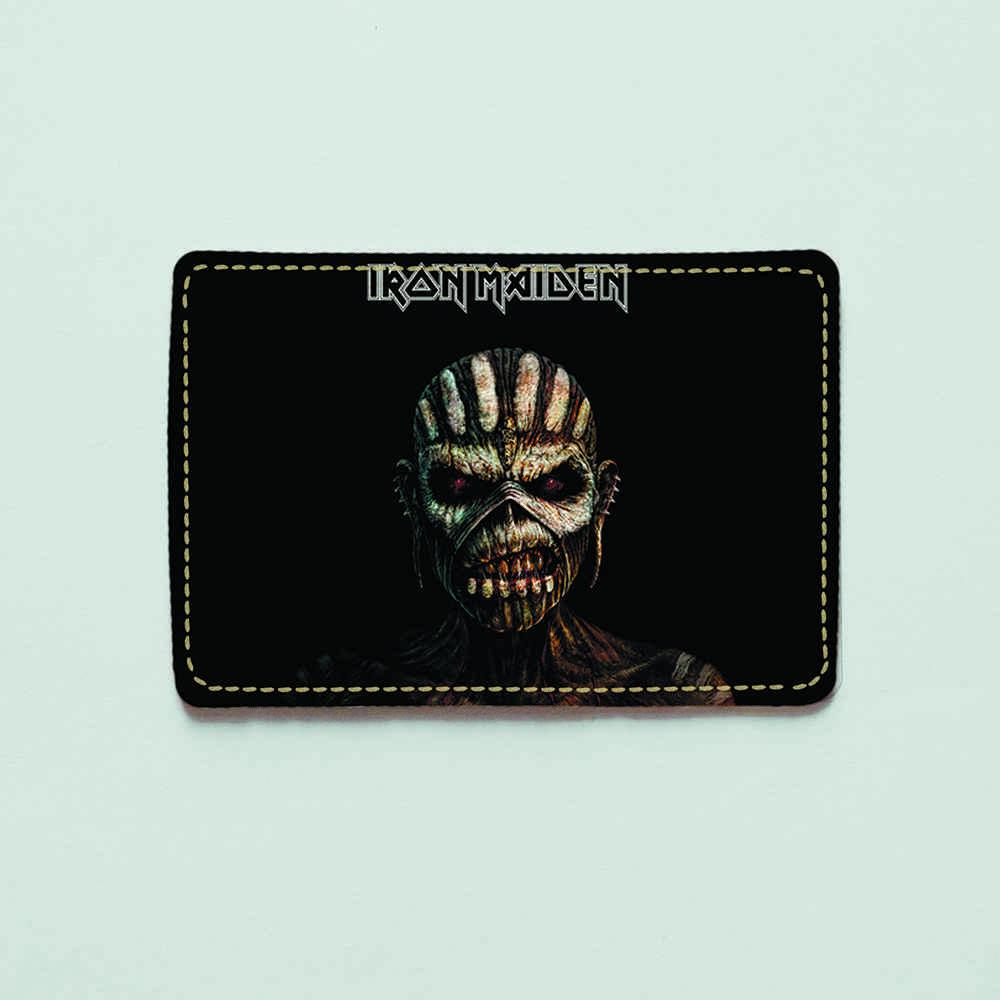 Картхолдер v.1.0. Fisher Gifts  824 Iron Maiden (эко-кожа)