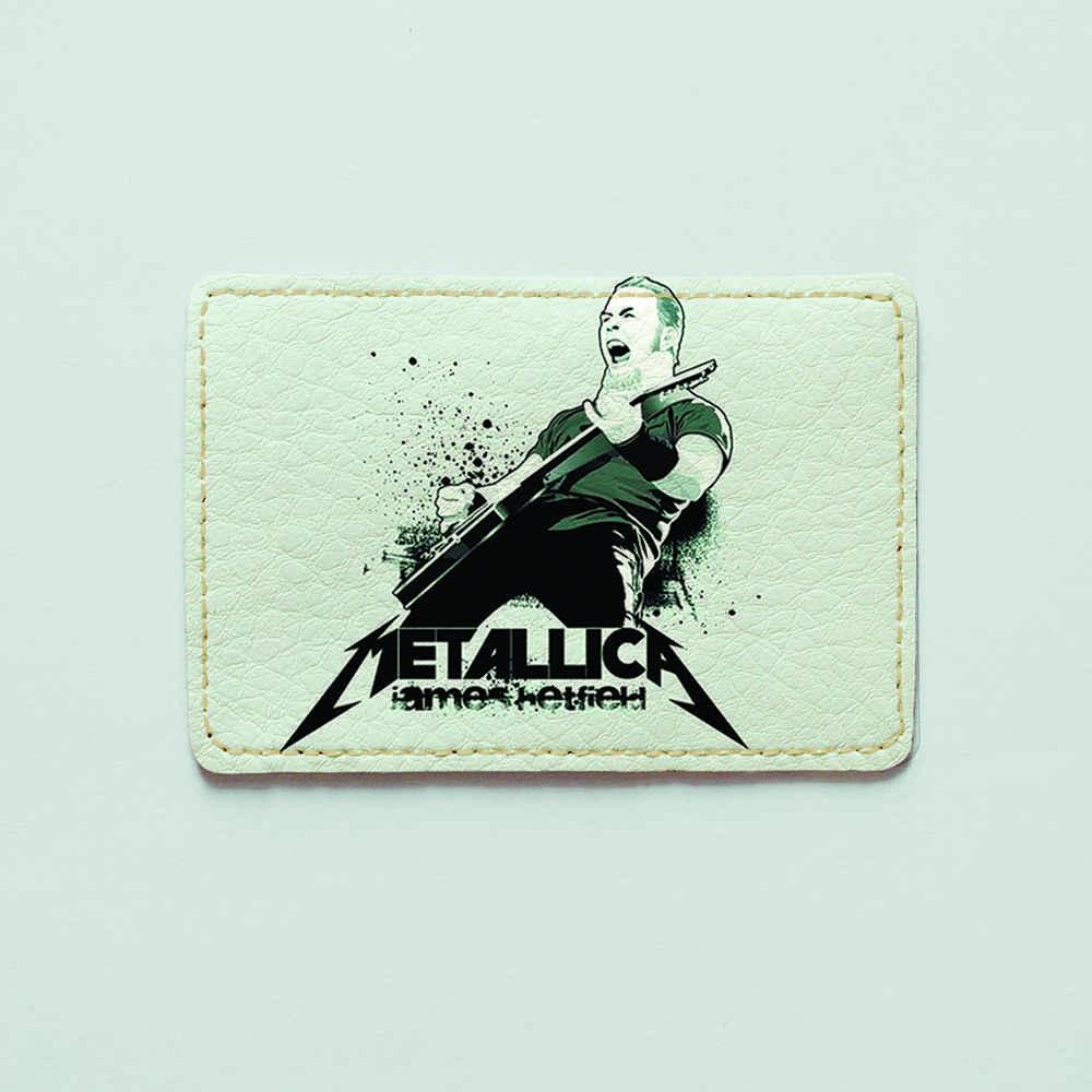 Картхолдер v.1.0. Fisher Gifts  827 Metallica 3 (эко-кожа)