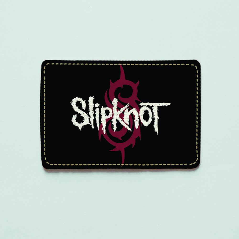 Картхолдер v.1.0. Fisher Gifts  834 Slipknot (эко-кожа)