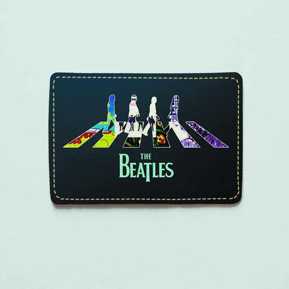 Картхолдер v.1.0. Fisher Gifts  837 The Beatles 3 (эко-кожа)
