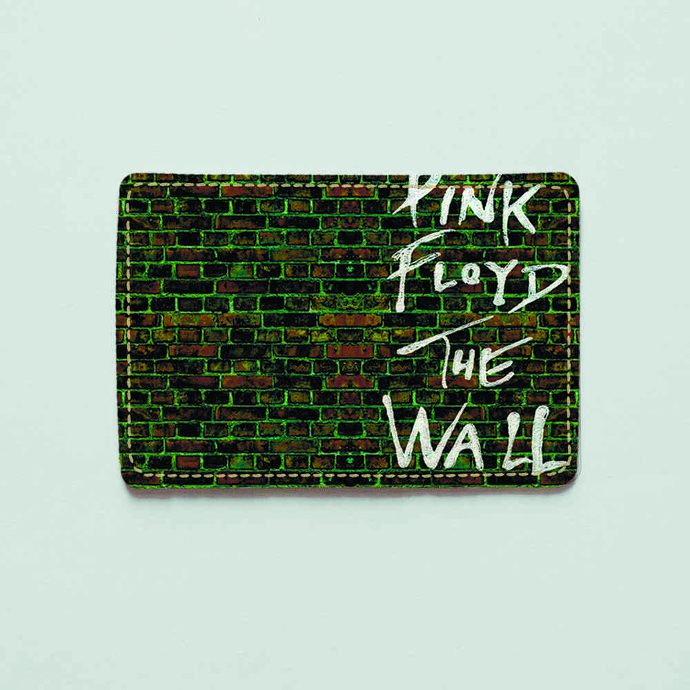 Картхолдер v.1.0. Fisher Gifts  841 Pink Floyd. The wall (эко-кожа)