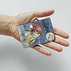 Картхолдер v.1.0. Fisher Gifts  861 Зимняя сова (эко-кожа), фото 3