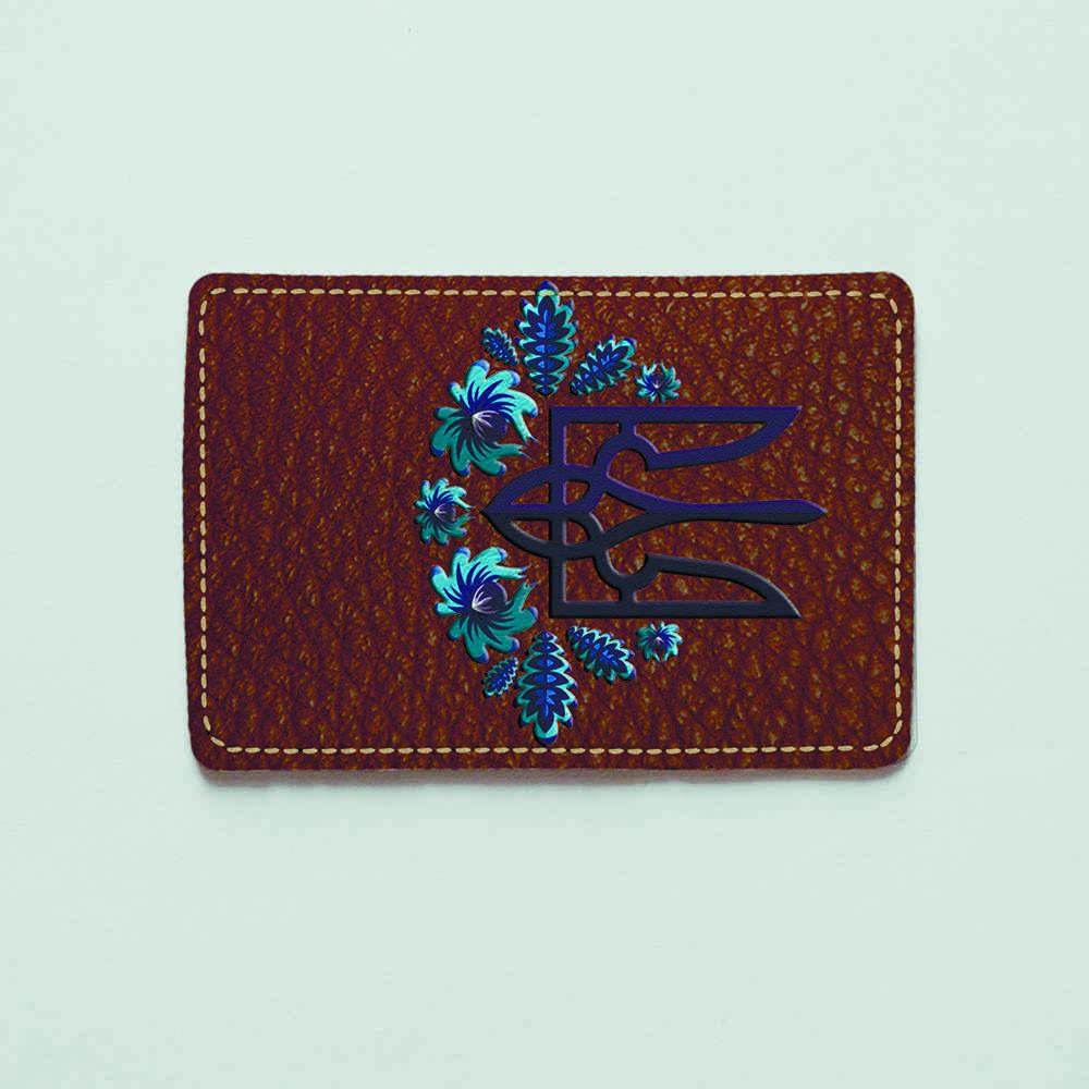 Картхолдер v.1.0. Fisher Gifts  874 Две части единого (эко-кожа)