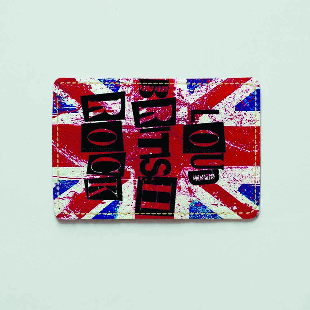 Картхолдер v.1.0. Fisher Gifts  895 Loud british rock (эко-кожа)