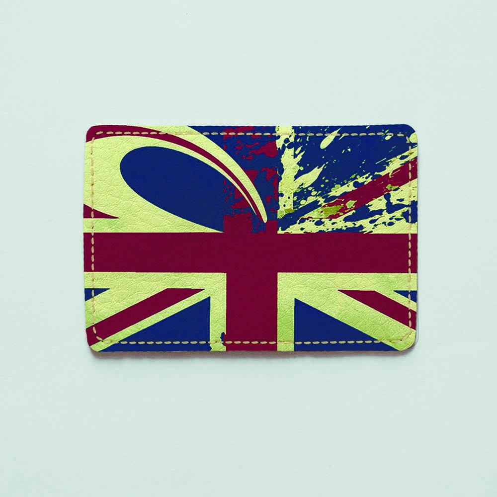 Картхолдер v.1.0. Fisher Gifts  896 Флаг Великобритании 2 (эко-кожа)