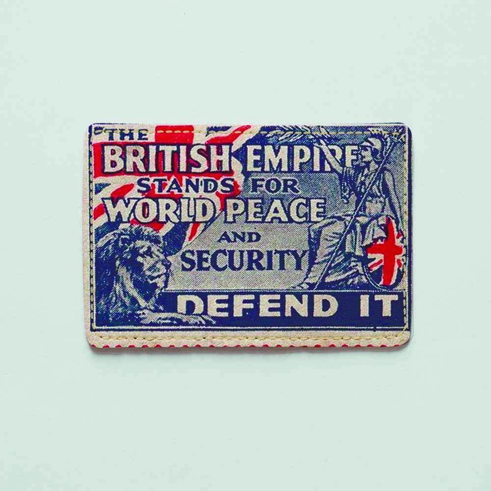 Картхолдер v.1.0. Fisher Gifts  898 British empire (эко-кожа)