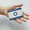Картхолдер v.1.0. Fisher Gifts  907 Флаг Израиля (эко-кожа), фото 3