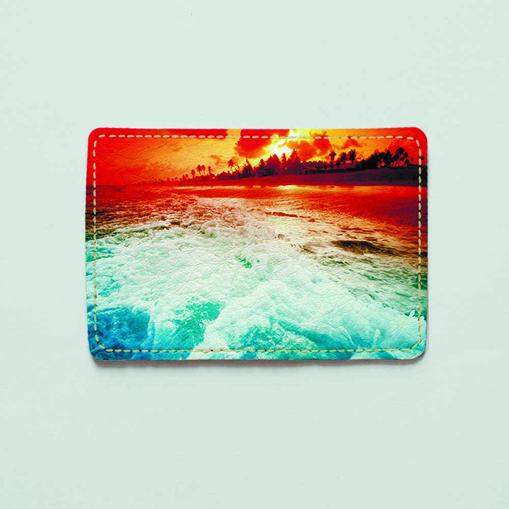 Картхолдер v.1.0. Fisher Gifts  908 Красное море (эко-кожа)