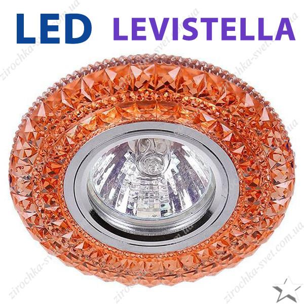 Светильник встраиваемый с LED подсветкой Levistella 716B209  под лампу Mr16