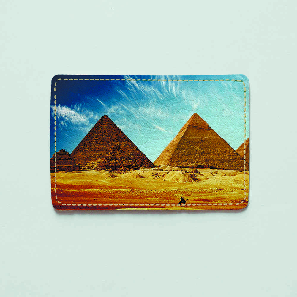 Картхолдер Fisher Gifts 911 Египетские пирамиды (эко-кожа)