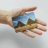 Картхолдер Fisher Gifts 911 Египетские пирамиды (эко-кожа), фото 3