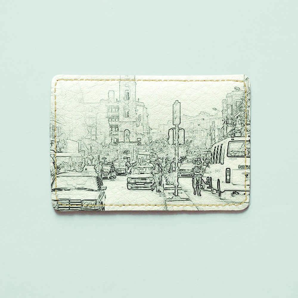 Картхолдер Fisher Gifts 913 Каир абстракция (эко-кожа)