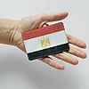Картхолдер v.1.0. Fisher Gifts  919 Флаг Египта (эко-кожа), фото 3