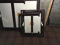 Ревизионный люк для стен под плитку, c замками Hafele