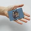 Картхолдер v.1.0. Fisher Gifts  943 Сова и мышь (эко-кожа), фото 3