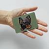 Картхолдер v.1.0. Fisher Gifts  944 Паук и бабочка (эко-кожа), фото 3