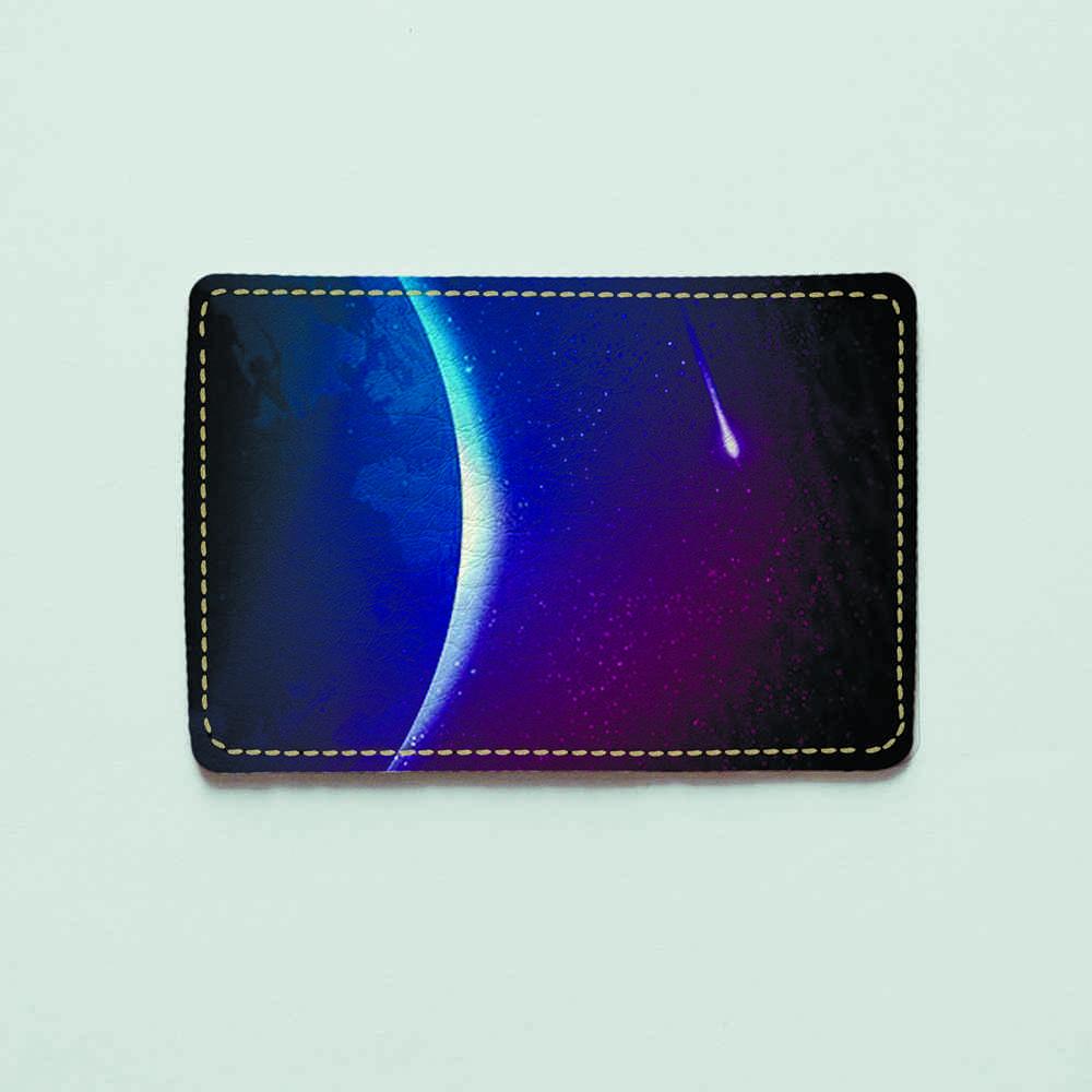 Картхолдер Fisher Gifts 964 Пролетающая комета (эко-кожа)