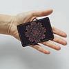 Картхолдер v.1.0. Fisher Gifts  965 Индийская мандала (эко-кожа), фото 3