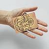 Картхолдер v.1.0. Fisher Gifts  967 Бог Ганеша (эко-кожа), фото 3