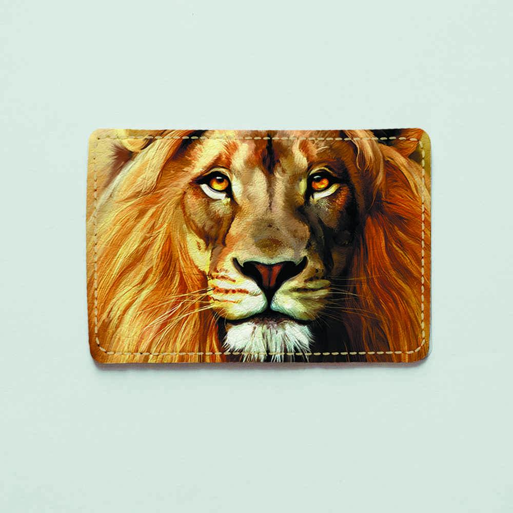 Картхолдер v.1.0. Fisher Gifts  977 Царь всех зверей (эко-кожа)