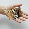 Картхолдер v.1.0. Fisher Gifts  977 Царь всех зверей (эко-кожа), фото 3