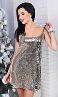 Платье пайетка 43762942-1