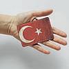Картхолдер v.1.0. Fisher Gifts  996 Флаг Турции old 2 (эко-кожа), фото 3