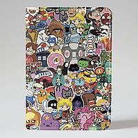 Обложка на паспорт Fisher Gifts 17 Adventure time (эко-кожа)
