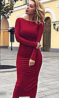 Замшевое Платье 43763017-2
