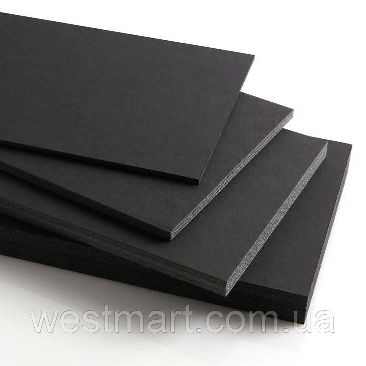Пенокартон Airplac Black 5мм черный 1000x1400 мм