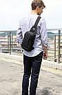 Водонепроницаемая сумка рюкзак через плечо, фото 9