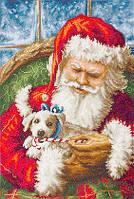 Luca-S Набор для вышивки крестом Дед Мороз Санта В561