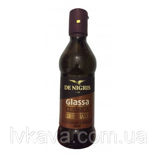Соус-крем  бальзамический De Nigris  Glassa all  Aceto Balsamico di Modena IGP,  250 г