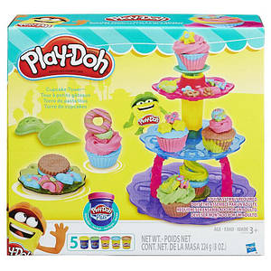 Набор Play-Doh Sweet Shoppe Cupcake Tower