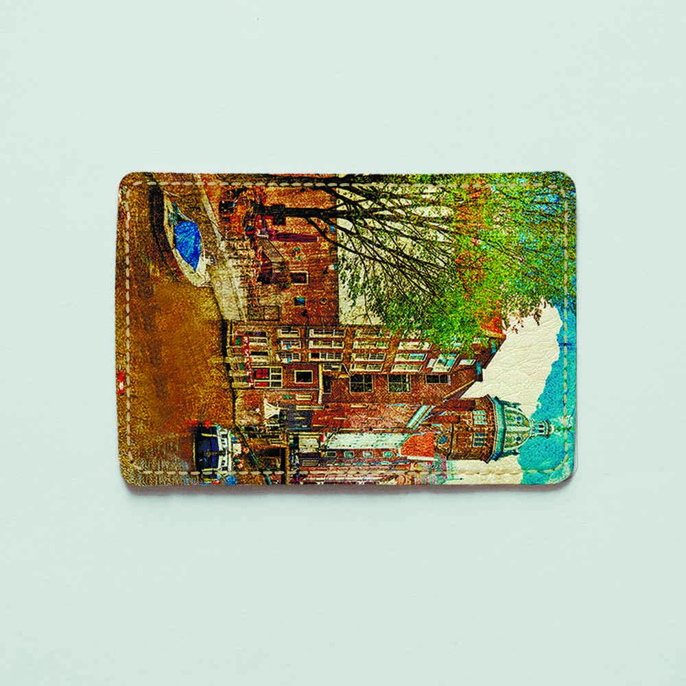 Картхолдер 67 Венеция в красках (эко-кожа)