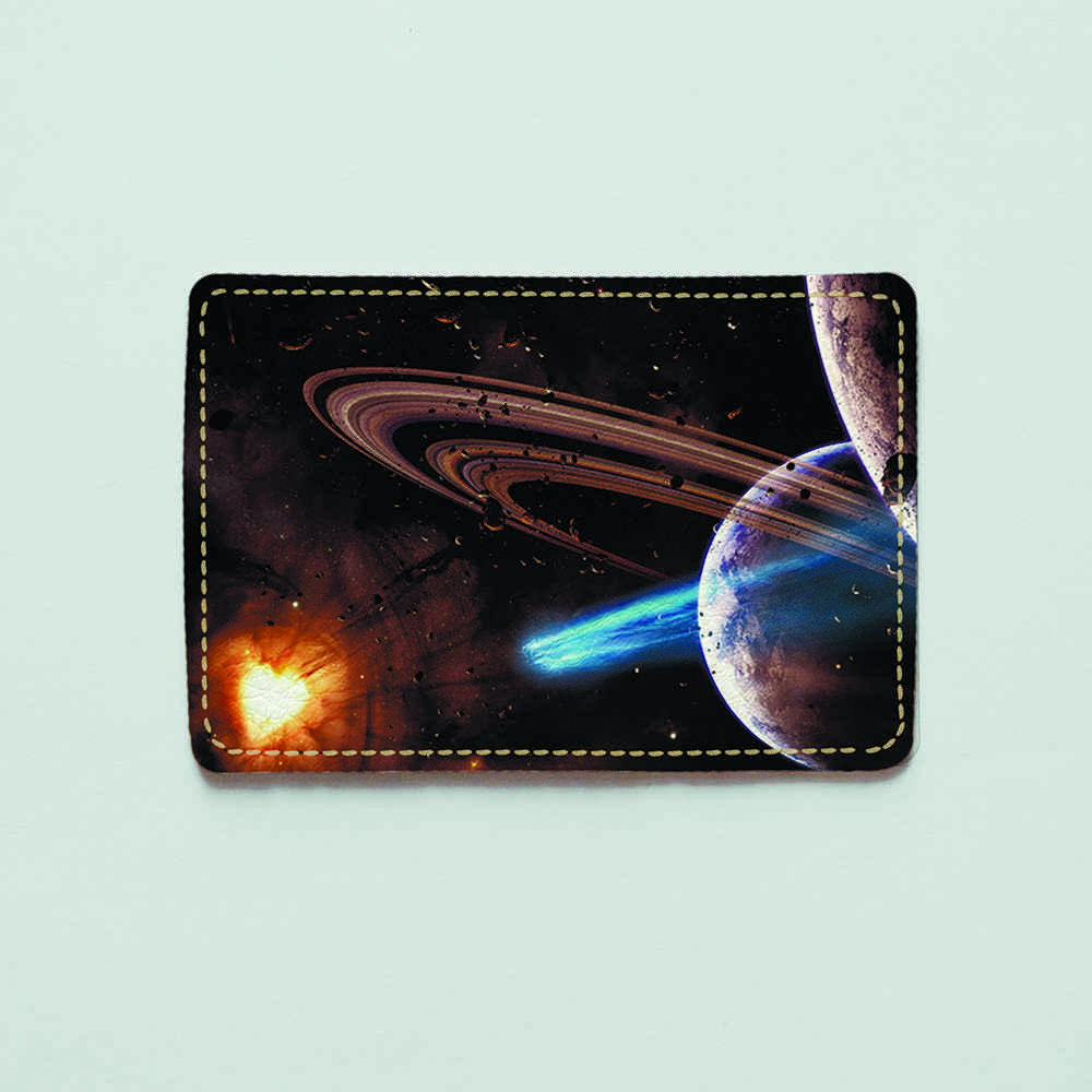 Картхолдер 516 Планета и астероиды (эко-кожа)