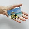 Картхолдер 660 Пляжные чемоданы (эко-кожа), фото 3