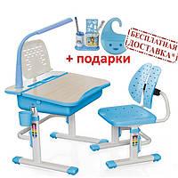 Комплект парта и стульчик Evo-kids Evo-03 (с лампой и подставкой)