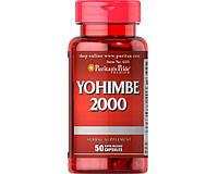 Йохимбе Yohimbe 2000 mg 50 капсул