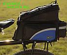 Сумка на багажник синя, фото 7